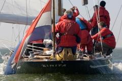 WK Reportage over de 12 meter klasse Zinita in het kader van het 100 jarig bestaan van de klasse